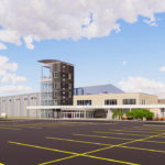Highlands sports complex early rendering