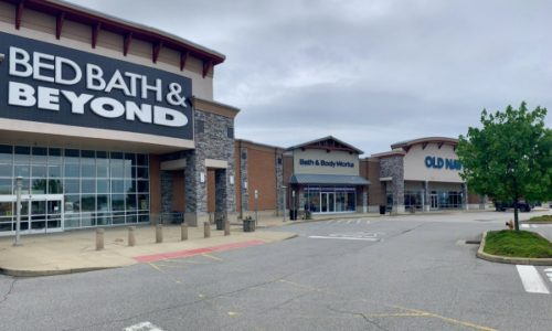 Bed bath and beyond, bath and body works, and old navy stores