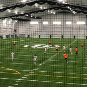 Soccer indoor field