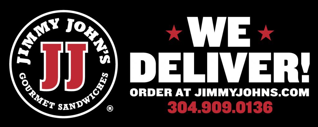 We Deliver order at JimmyJohns.com 304.909.0136