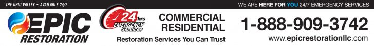 Epic Restoration Commercial Residential Residential services you can trust 1-88-909-3742 www.epicrestorationllc.com
